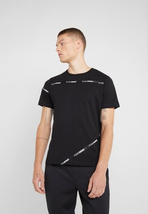 ROUND NECK STATEMEN - T-shirt print - black