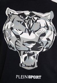 Plein Sport - ROUND NECK TIGER - T-shirt con stampa - black - 5
