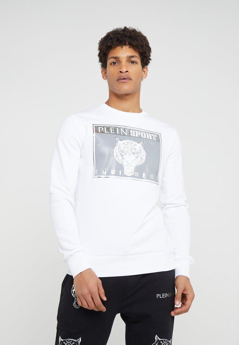 Plein Sport - TIGER - Sweatshirt - white
