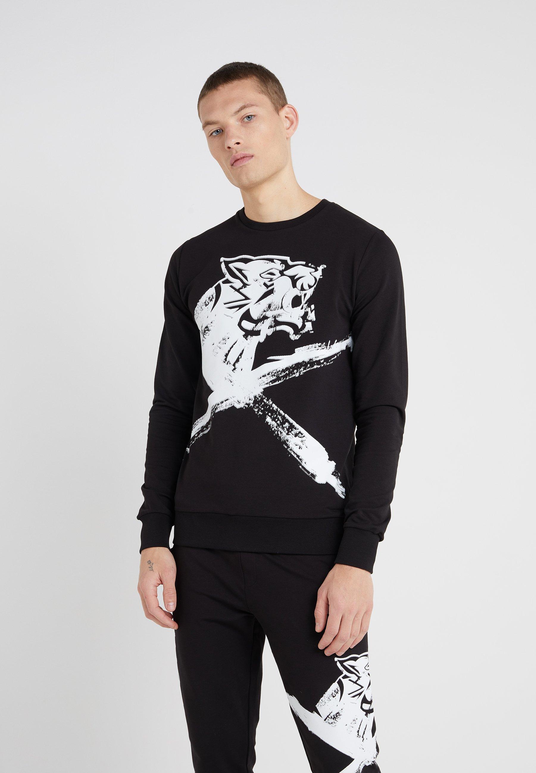 TigerSweatshirt Plein Cross Cross Plein Black Plein Sport Black Cross Sport TigerSweatshirt Sport ALqcj354R