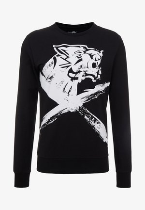 CROSS TIGER - Sweatshirt - black