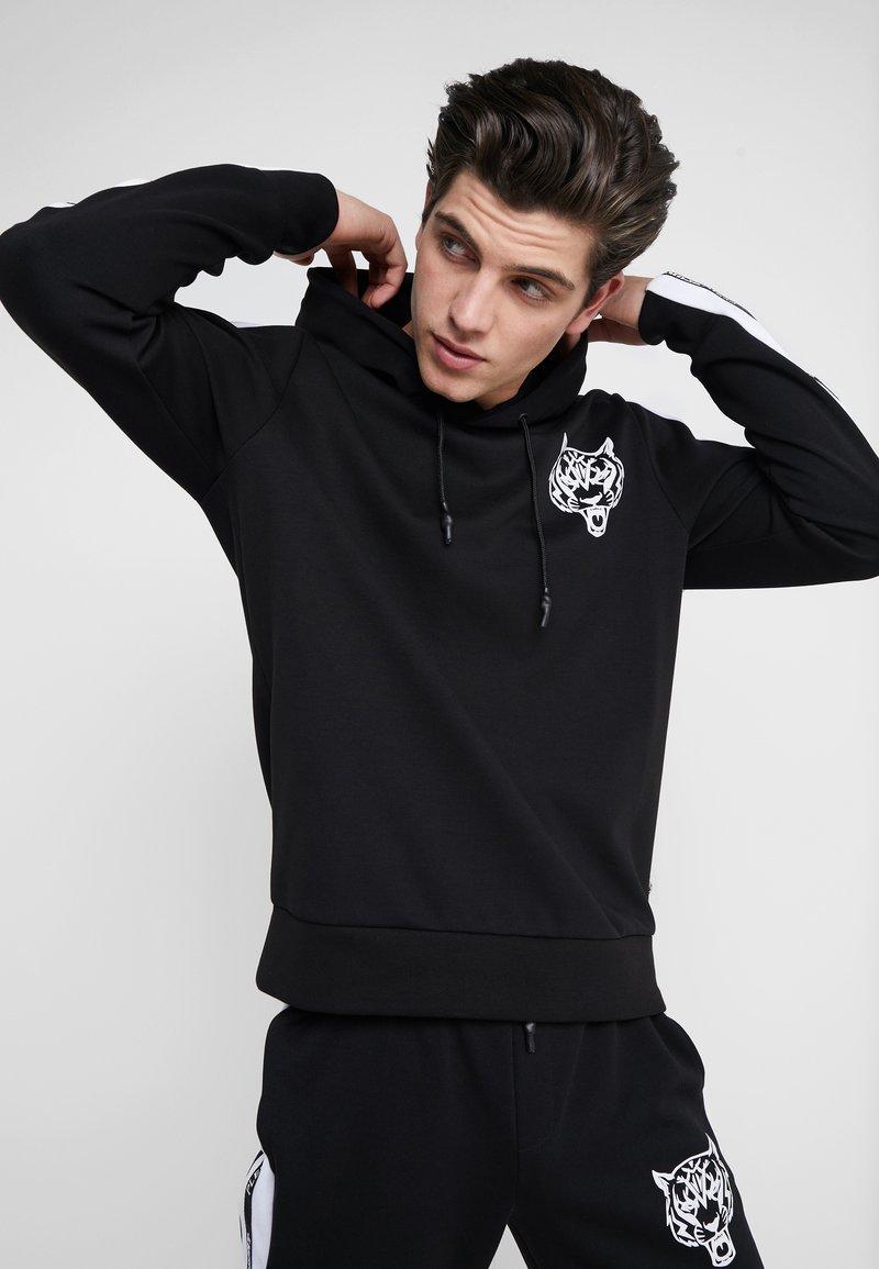 Plein Sport - HOODIE ORIGINAL - Kapuzenpullover - black