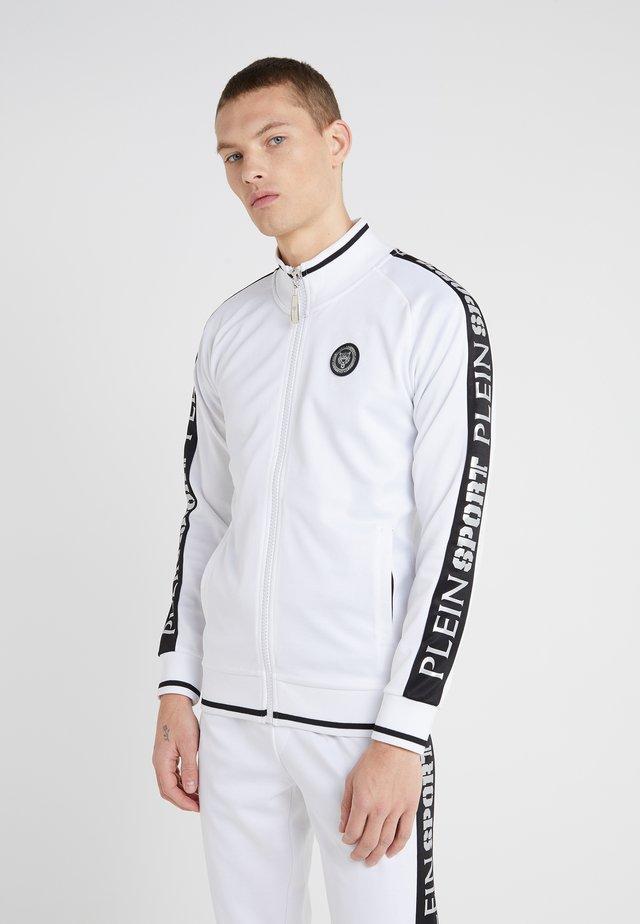 JOGGING JACKET SPORT - Zip-up hoodie - white