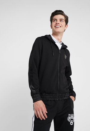 HOODIE STATEMENT - Kardigan - black