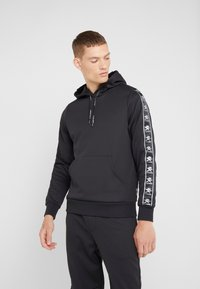 Plein Sport - HOODIE STRIPES - Sweat à capuche - black - 0