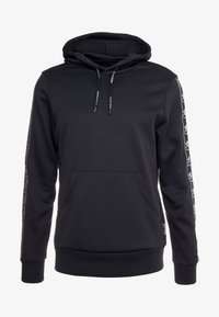Plein Sport - HOODIE STRIPES - Sweat à capuche - black - 4