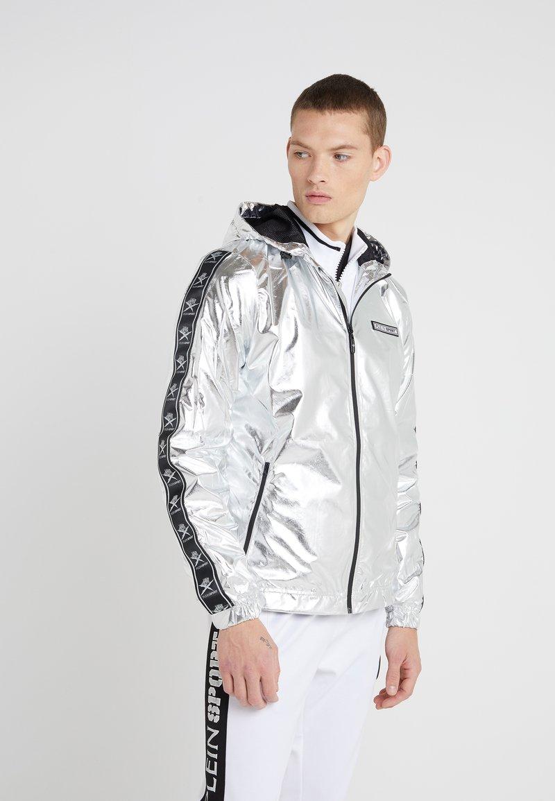 Plein Sport - JACKET TIGER - Kevyt takki - silver