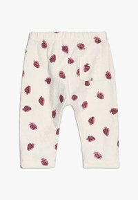 Play Up - TROUSERS BABY - Leggings - Trousers - white/pink - 1