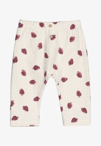 Play Up - TROUSERS BABY - Leggings - Trousers - white/pink - 3