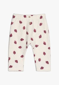 Play Up - TROUSERS BABY - Leggings - Trousers - white/pink - 0