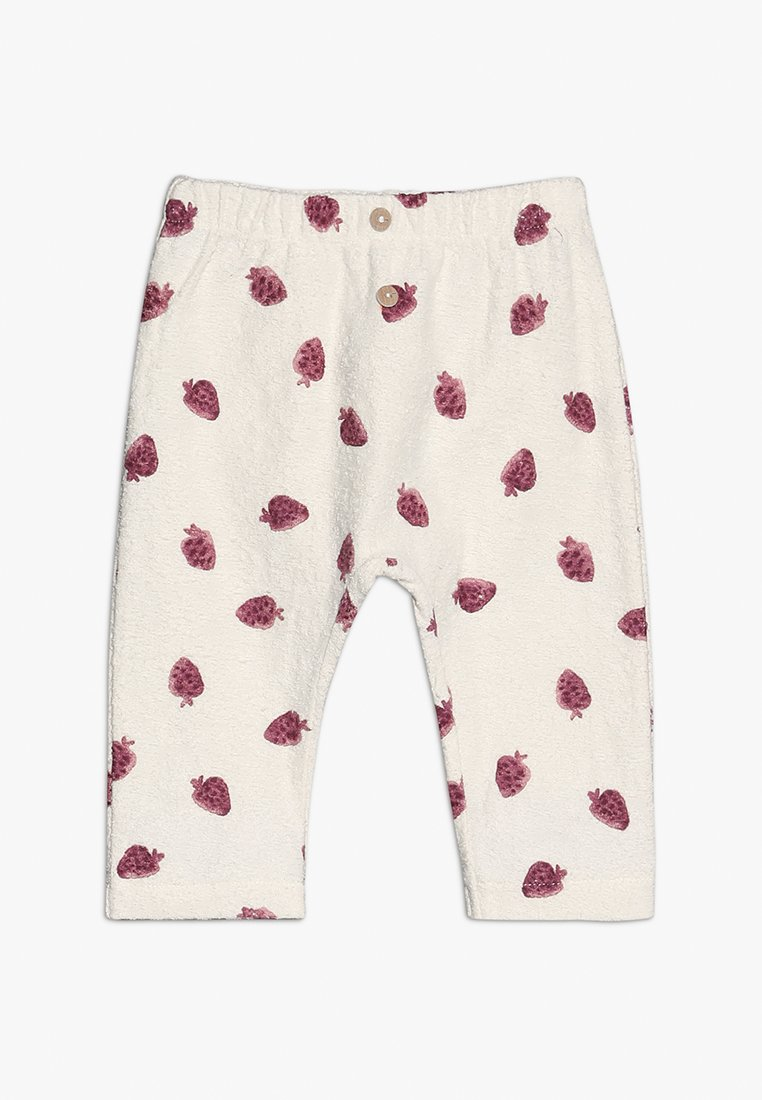 Play Up - TROUSERS BABY - Leggings - Trousers - white/pink
