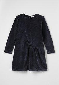 Play Up - VELVET DRESS - Sukienka letnia - dark blue - 0