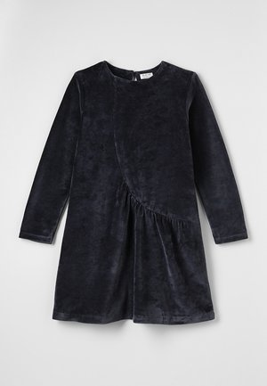VELVET DRESS - Sukienka letnia - dark blue