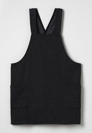DRESS - Jersey dress - dark grey