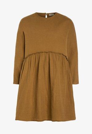 COMBI DRESS - Sukienka letnia - dark yellow