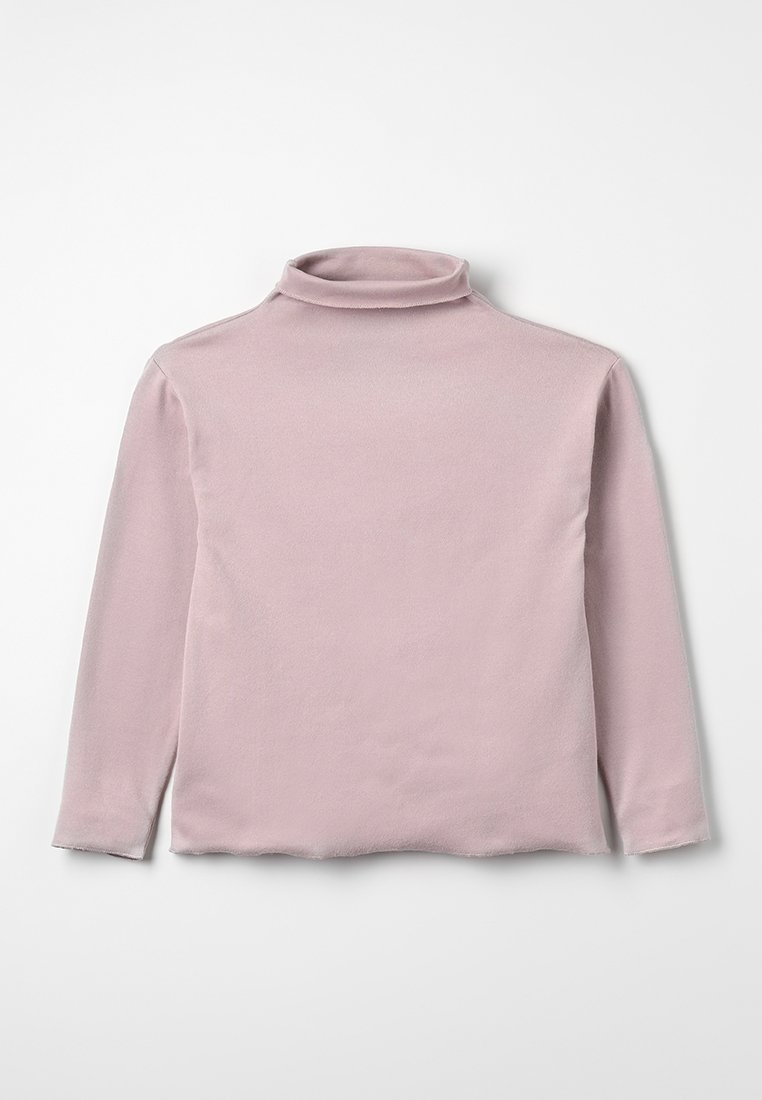 Play Up - RIB TURTLENECK SWEATER - Long sleeved top - rose