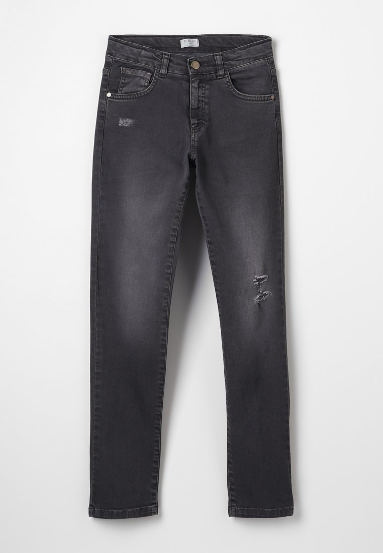 Play Up - TROUSERS - Jean droit - dark grey
