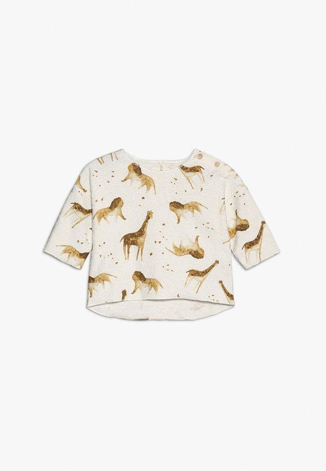 PRINTED TERRY BABY - Langærmede T-shirts - white