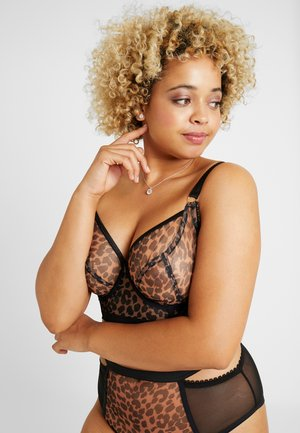 GABI FRESH CUT OUT BRA - Bøyle-BH - black