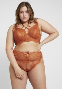 Playful Promises - MORGAN HIGH APEX BRALET - Kaarituelliset rintaliivit - rust - 1
