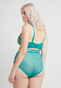 Playful Promises - JENNA HIGH APEX STRAPPY NON PAD BRA - Bøyle-BH - teal - 2