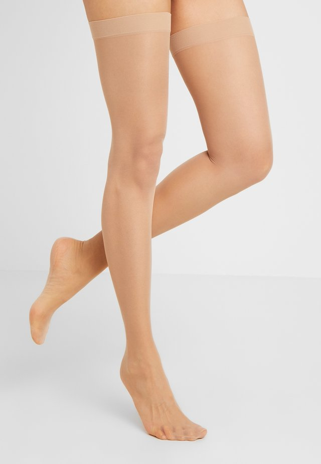 SEAMED STOCKING - Calze parigine - light nude