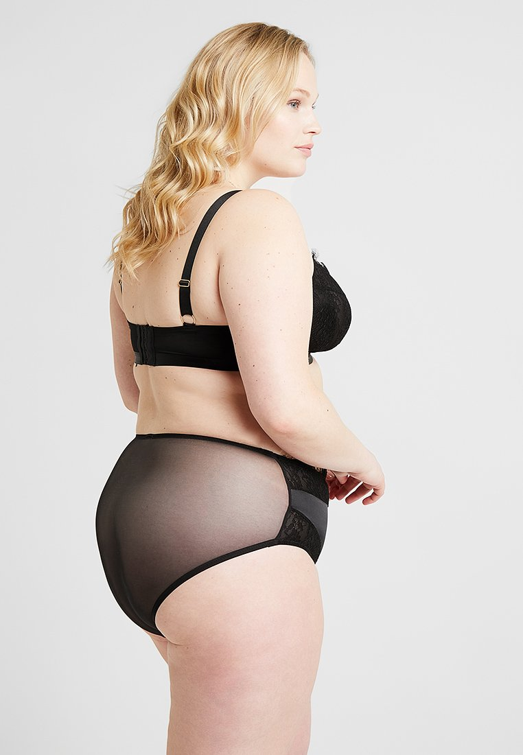 Playful Promises - GABI FRESH HIGH WAIST BRIEF - Braguitas - black