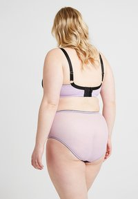 Playful Promises - GABI FRESH LILAC CONTRAST HIGH WAIST BRIEF - Slip - lilac - 2