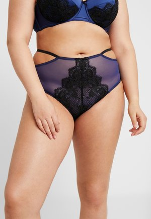 TABITHA EMBROIDERED BRIEF - Alushousut - blue