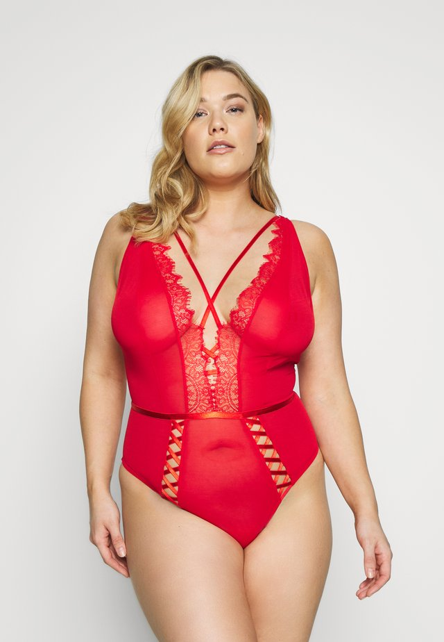 KARINA UP DETAIL - Body - dark red