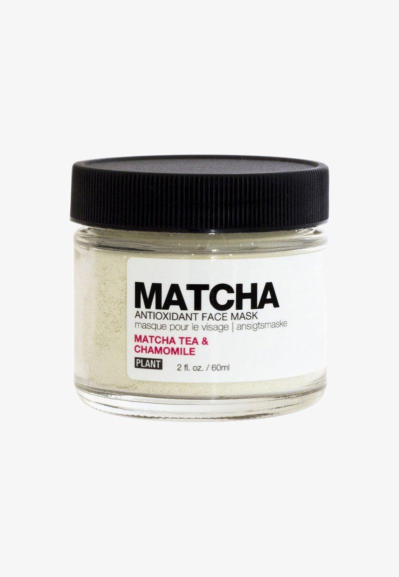 Plant Apothecary - MATCHA ANTIOXIDANT FACE MASK 60ML - Gesichtsmaske - -