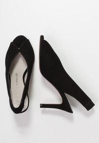 Pedro Miralles - YORK - Højhælede peep-toes - black - 3