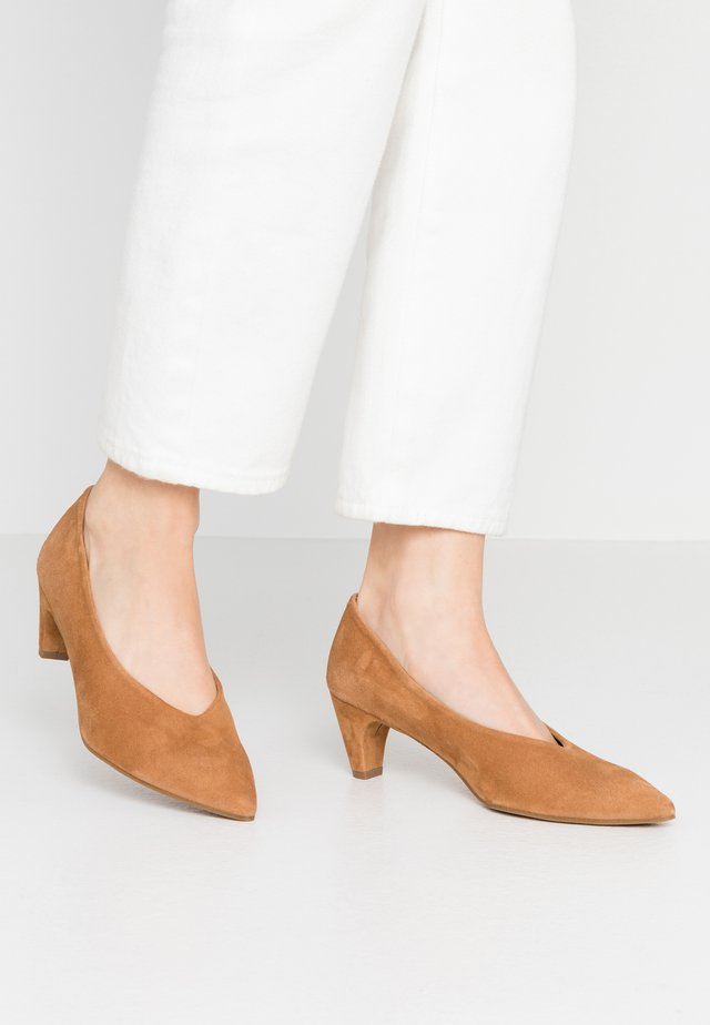 Pumps - amalfi cognac