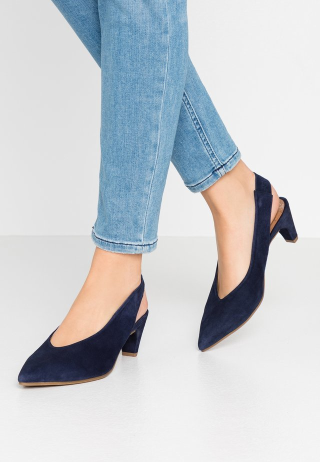 Klassiske pumps - navy