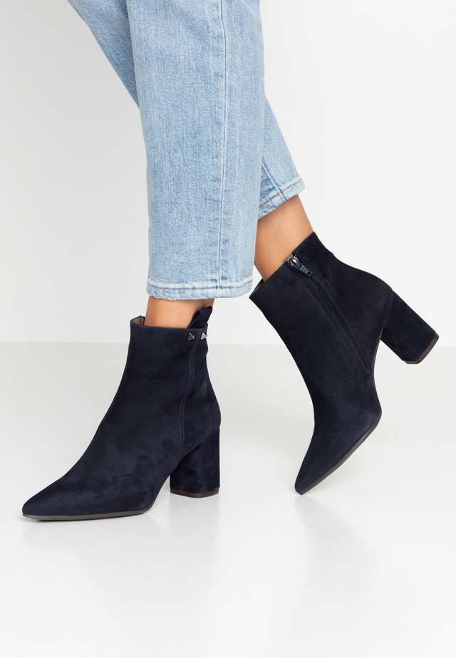 Ankle Boot - navy