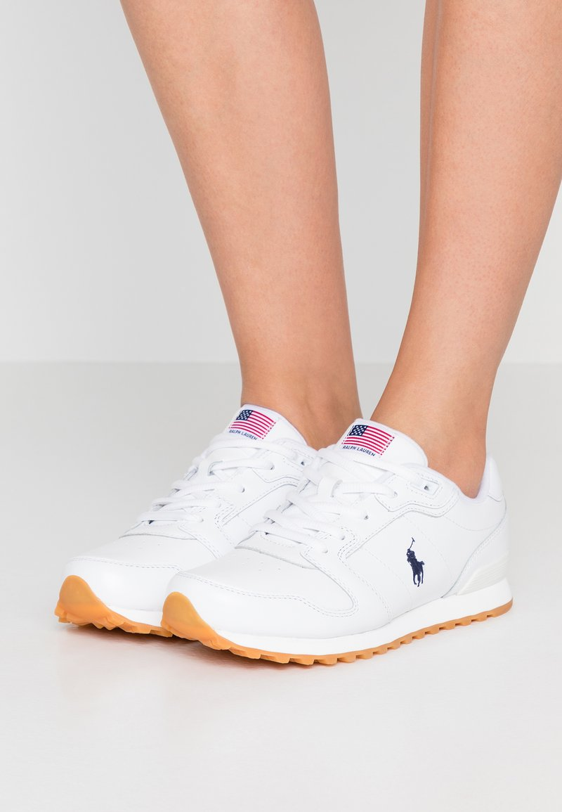 Polo Ralph Lauren - CLASSIC RUN - Sneaker low - white