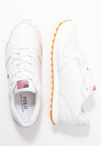 Polo Ralph Lauren - CLASSIC RUN - Sneaker low - white - 3