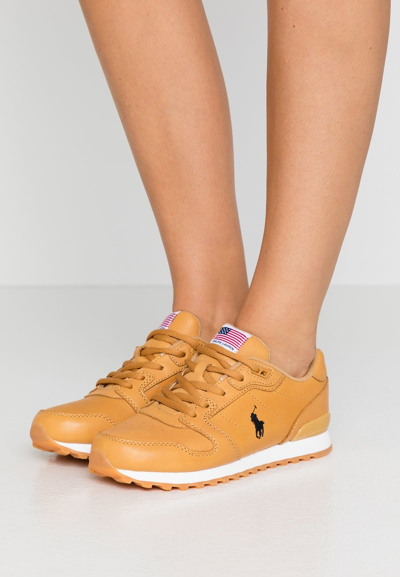 Polo Ralph Lauren - CLASSIC RUN - Trainers - honey