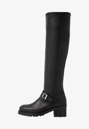 PATSIE BOOTS CASUAL - Vysoká obuv - black