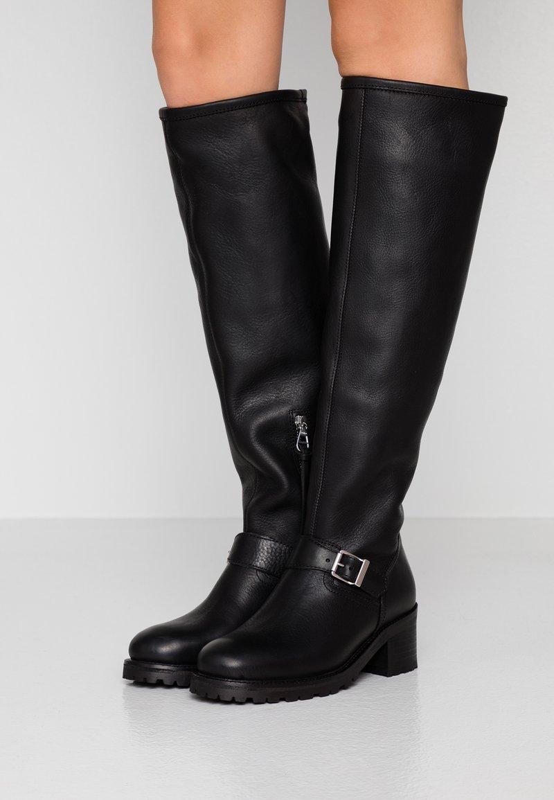 Polo Ralph Lauren - PATSIE BOOTS CASUAL - Boots - black