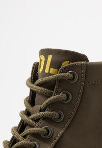 Polo Ralph Lauren - Sneakers alte - military/yellow - 2