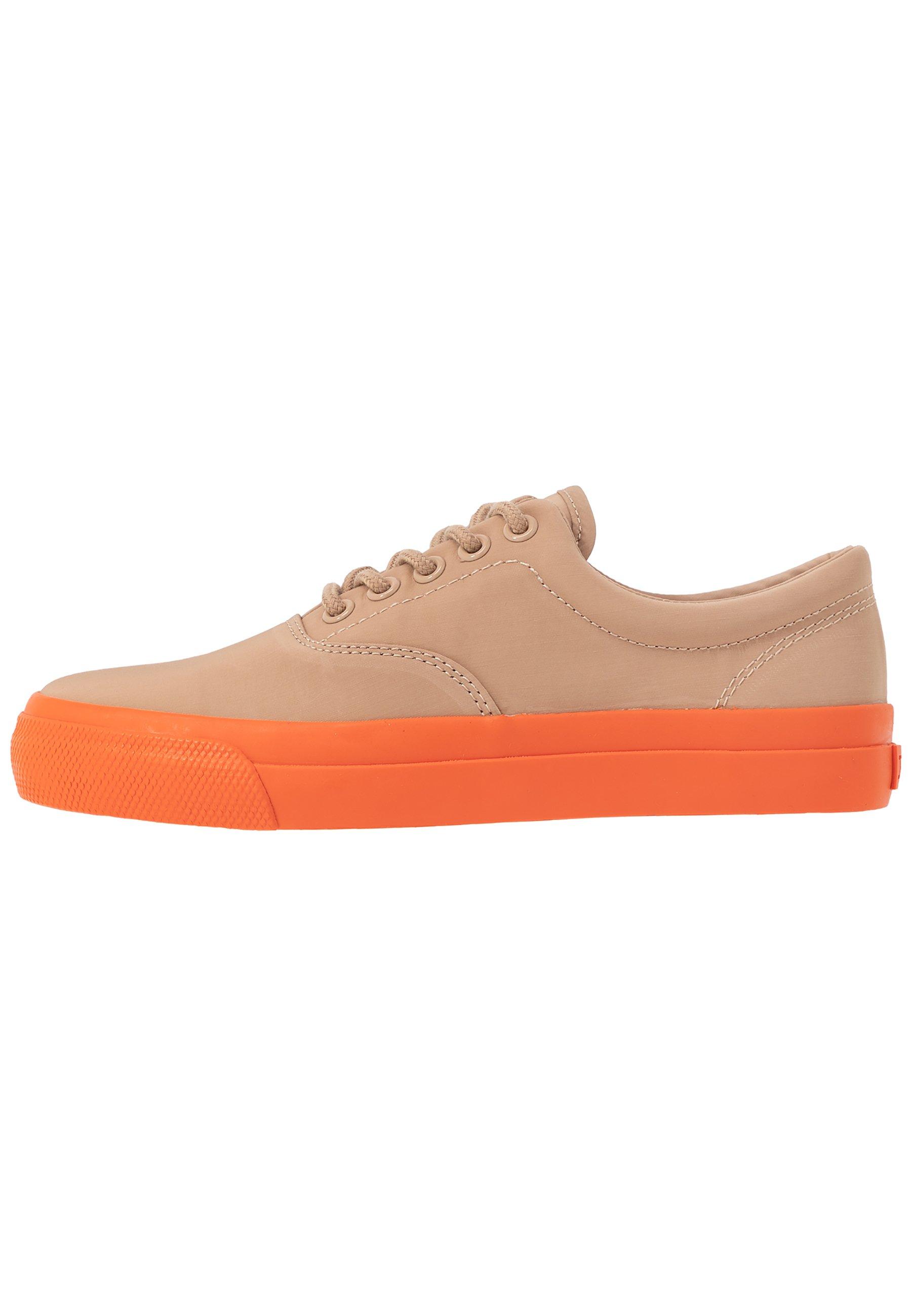 Polo Ralph Lauren BRYN - Sneakersy niskie - khaki/dusk orange