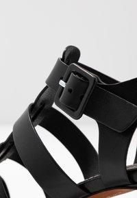 Polo Ralph Lauren - FISHERMAN  - Sandály - black - 2