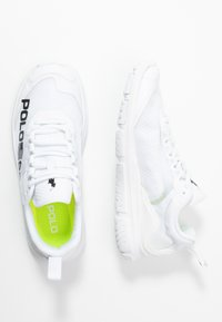 Polo Ralph Lauren - RIPSTOP TECH RACER - Trainers - white/black - 3