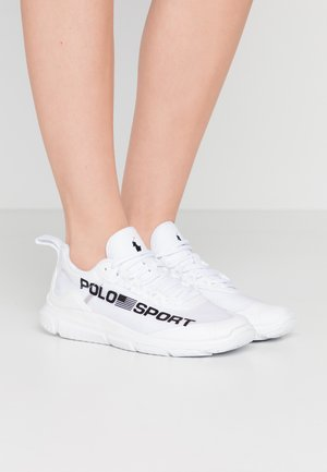 RIPSTOP TECH RACER - Trainers - white/black