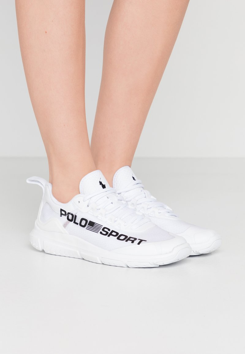Polo Ralph Lauren - RIPSTOP TECH RACER - Trainers - white/black