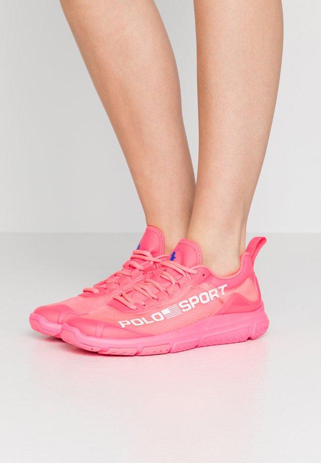 RIPSTOP TECH RACER - Sneakers - neon fuschia
