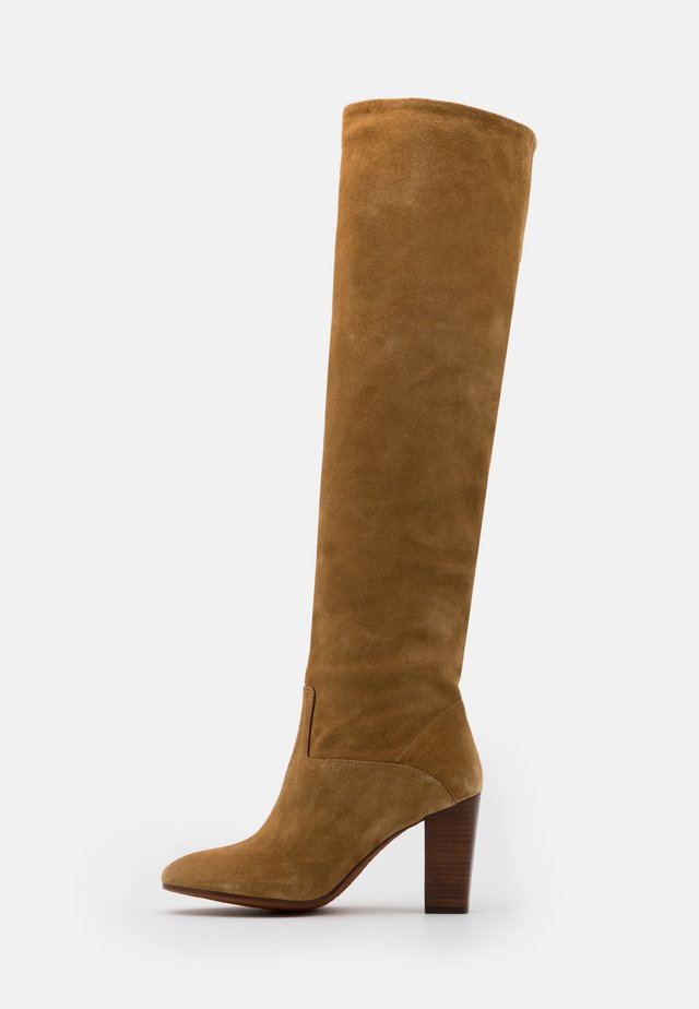 BRIE BOOTS DRESS  - Over-the-knee boots - tan