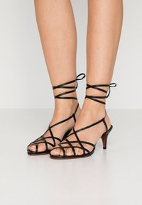 Polo Ralph Lauren - DEANA - Sandals - black - 0