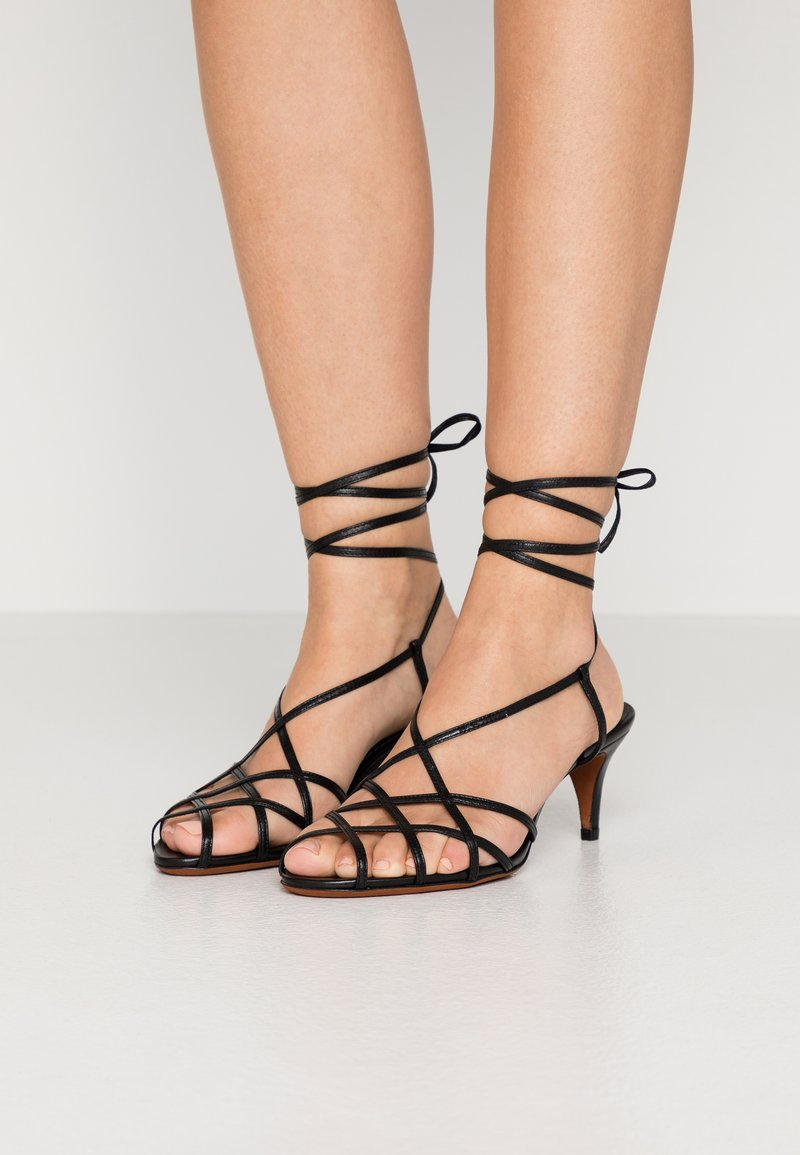 Polo Ralph Lauren - DEANA - Sandals - black